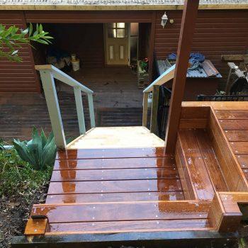 custom timber stairs