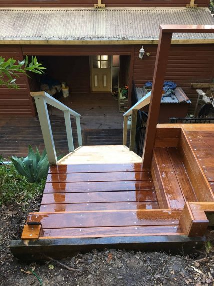 custom timber stairs