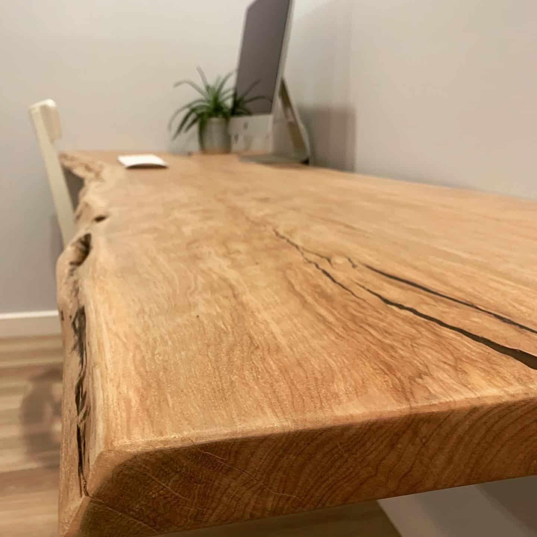 Fine wood desk custom