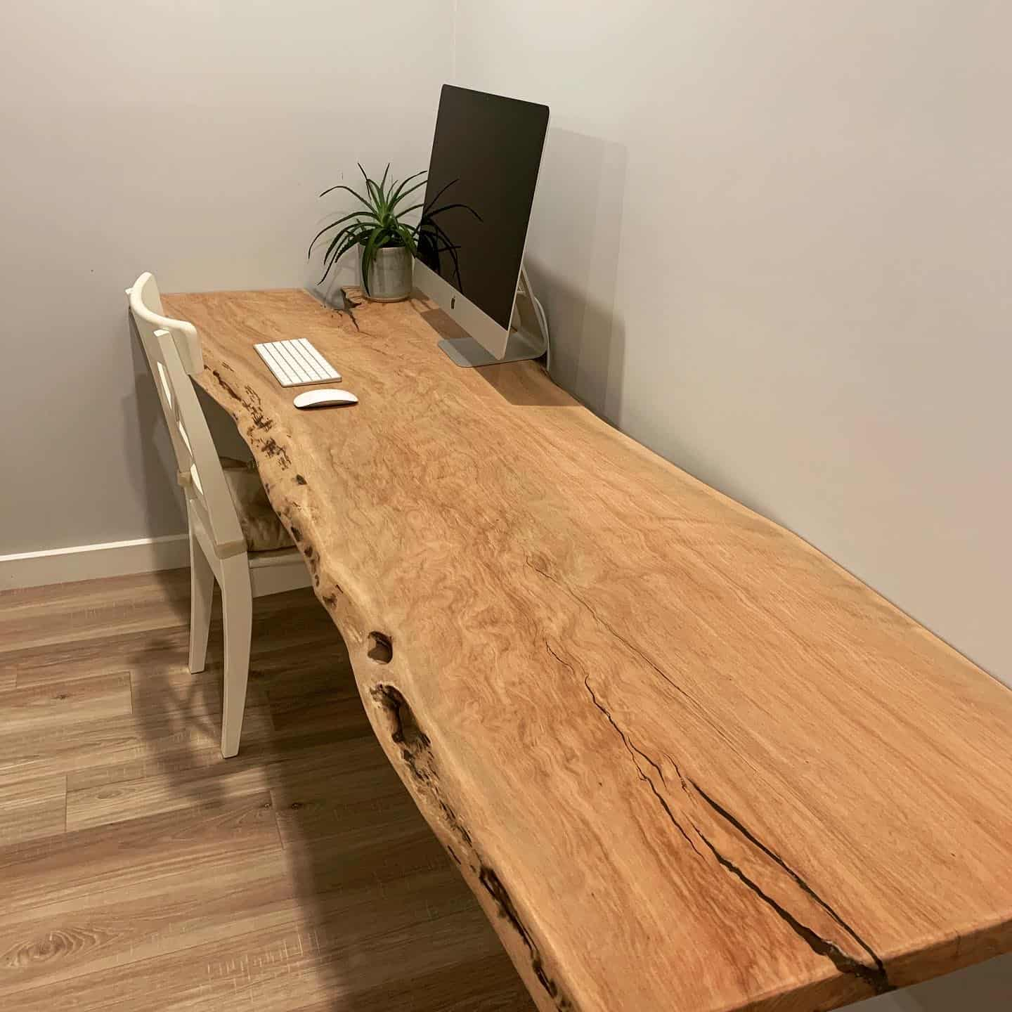 Fine wood desk custom