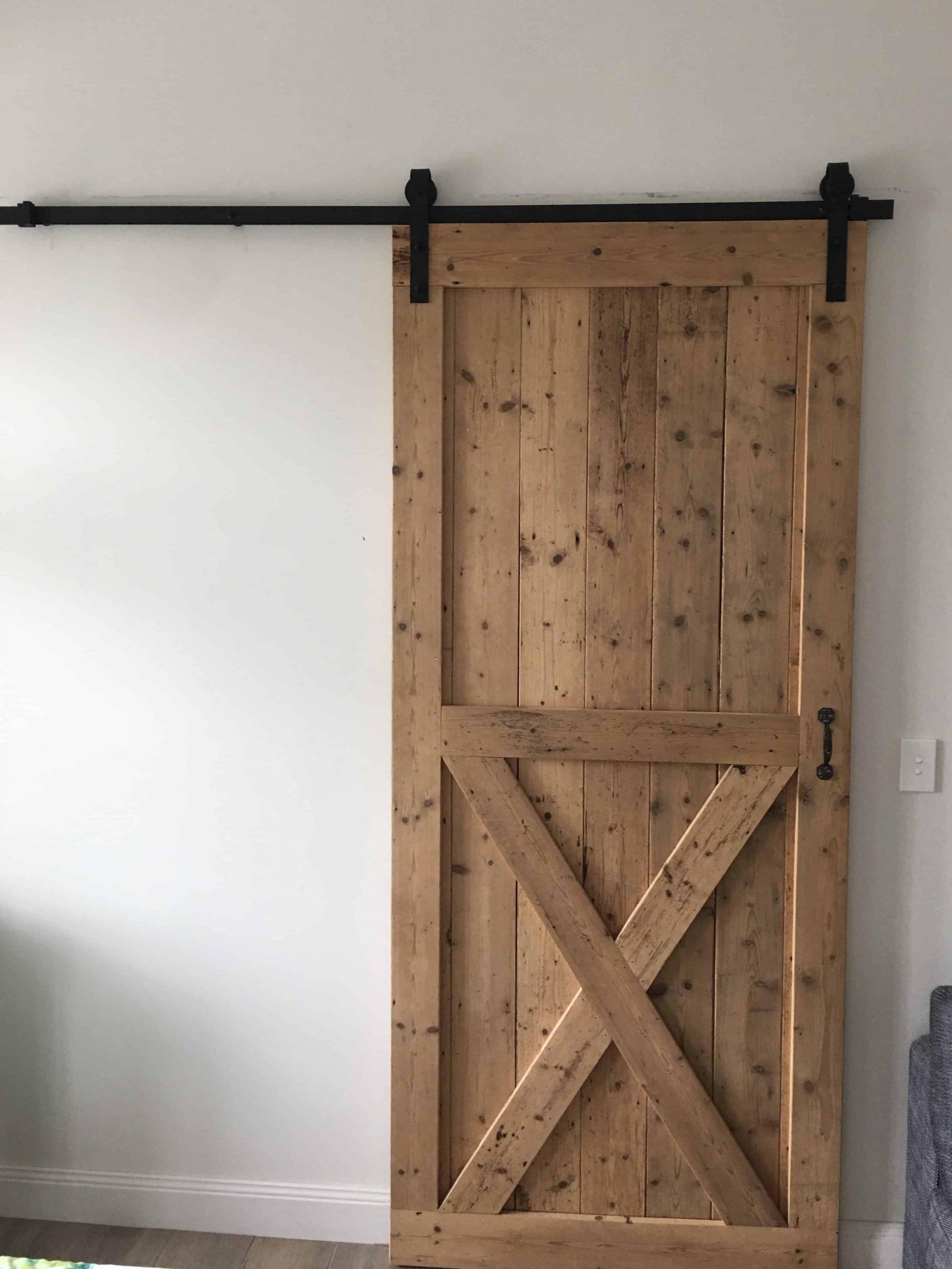 Custom timber door